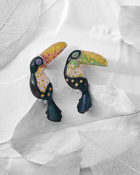 Van Cleef Arpels Jewelry Product Commercial Photography Dusseldorf Flying Pear