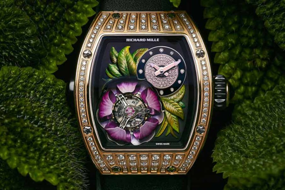 Richard Mille Watch Product Commercial Photography Dusseldorf Ad Agency Flying Pear
